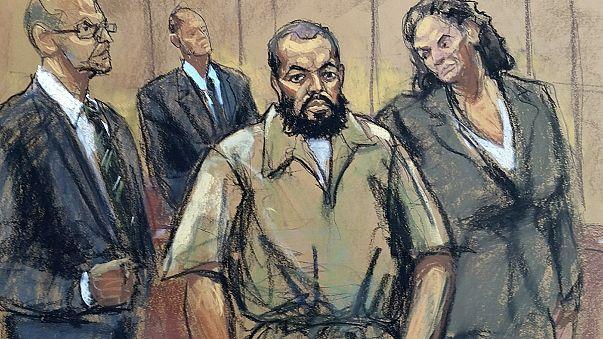 New York bomb suspect Rahimi pleads not guilty