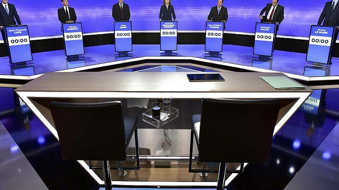 Fillon gewinnt TV-Debatte knapp vor Juppé