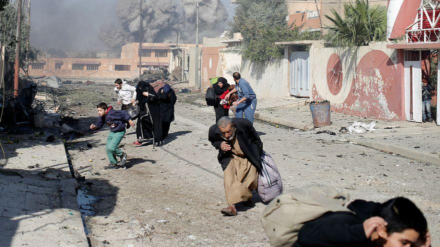 Iraqi troops resume fighting in Mosul