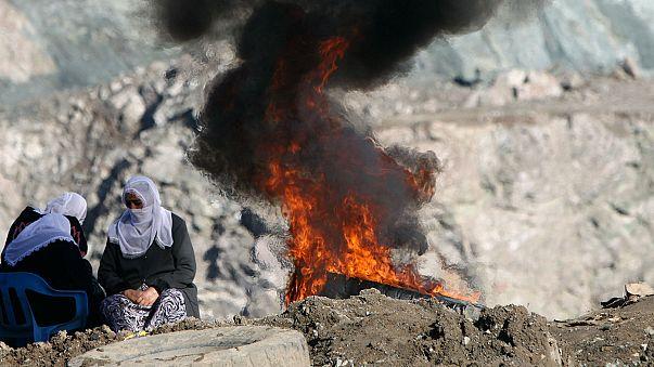 Siirt'te heyelan yaşanan madenden acı haber