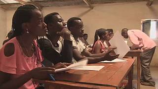 Congolese refugees in Rwanda get a second chance at education