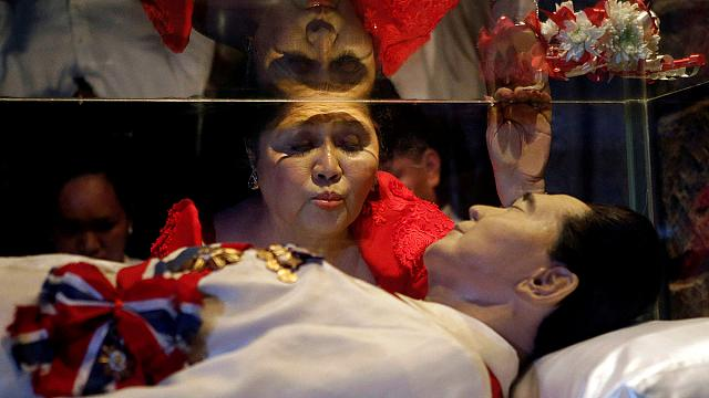 Filipino dictator Marcos given hero's burial by President Duterte
