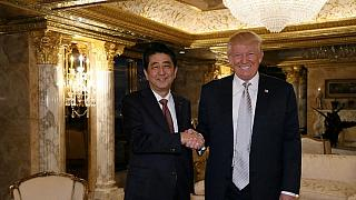Japanese PM meets Trump; confident of building trust