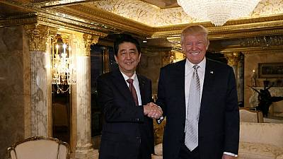 Rencontre Shinzo Abe-Donald Trump