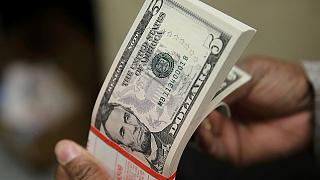 Dollar muscles ahead, strongest since 2003 against basket of currencies