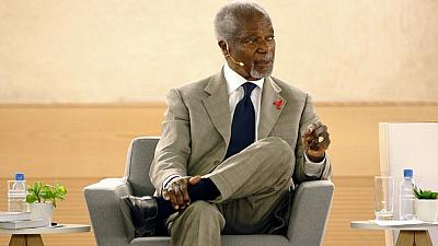 Retrait de pays africains de la CPI : le cri de coeur de Kofi Annan