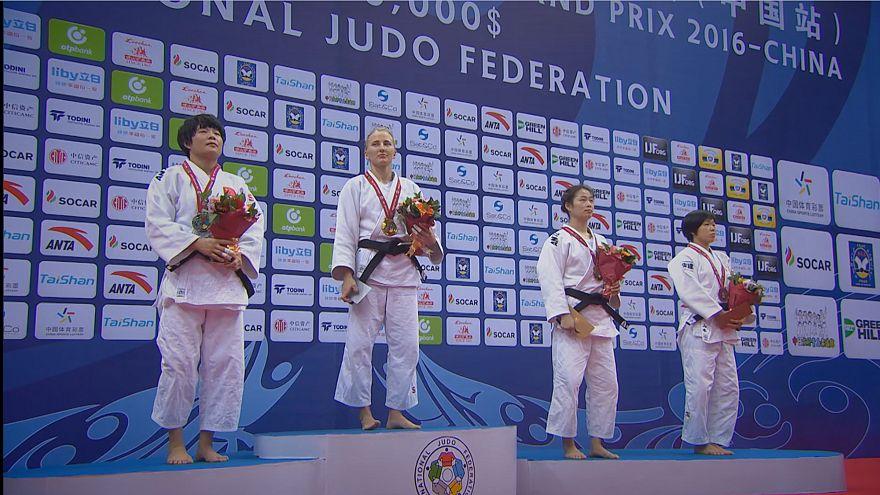 """Гран-при Циндао. Российские дзюдоисты выиграли два """"золота"""" и четыре """"серебра"""""""