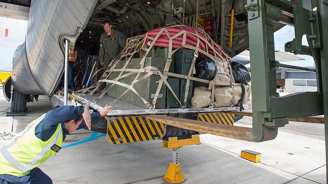 Ajuda humanitária chega à cidade da Nova Zelândia atingida por terramoto