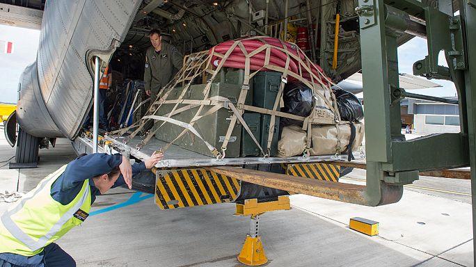 Nouvelle-Zélande : les militaires arrivent sur la zone du séisme