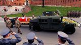 Pologne : ré-inhumation de Lech Kaczynski