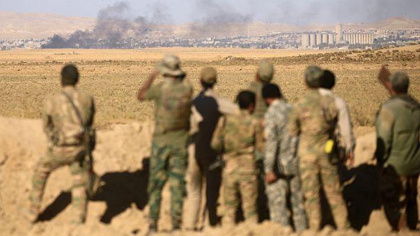 الجيش العراقي يتقدم في الاحياء الشرقية من الموصل