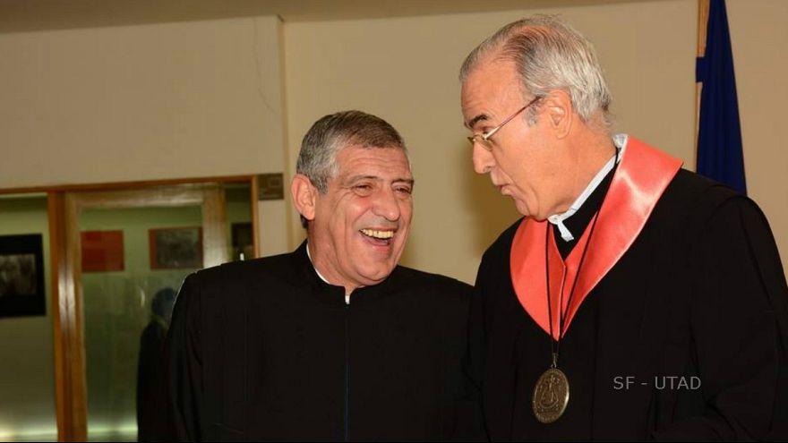 """Selecionador de futebol de Portugal é doutor """"honoris causa"""" em Trás-os-Montes"""