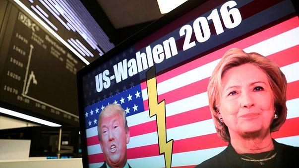Trump gegen Clinton: Mehr als 1 Mio. Stimmen Unterschied