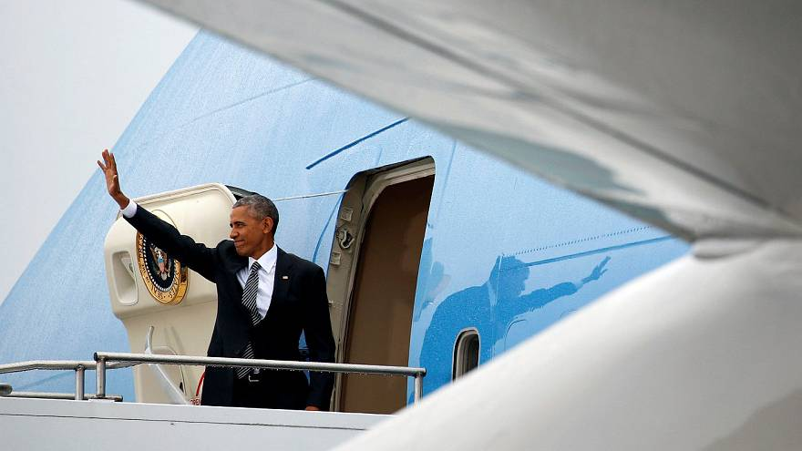 Obama ends his last official visit to Europe