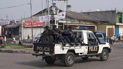 Kinshasa: la police occupe le lieu du meeting prévu par l'opposition