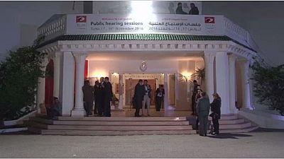 Deuxième jour des auditions publiques en Tunisie