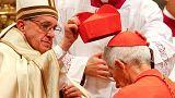 Papst mahnt 17 neue Kardinale vor spalterischen Gefühlen