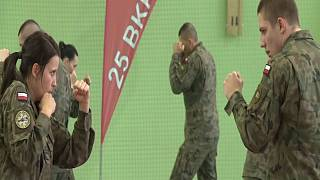 Polish women get self-defence classes from army