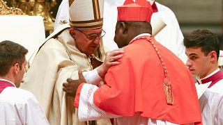 Pope Francis elevates CAR's Nzapalainga to cardinal