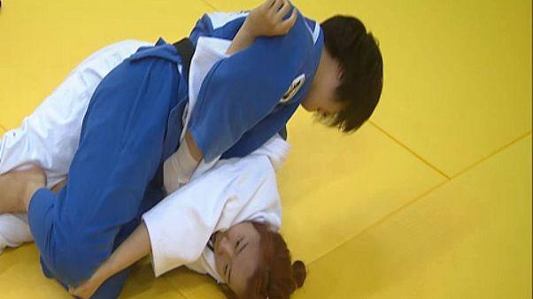 Judocas japonesas à conquista de Qingdao