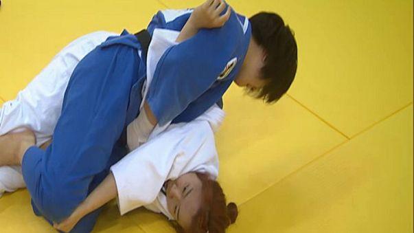 Las judokas japonesas llaman a la puerta