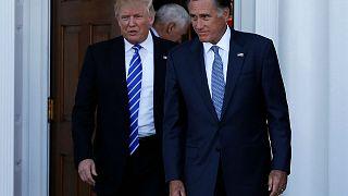 دونالد ترامب يلتقي ميت رومني أبرز المرشحين لوزارة الخارجية