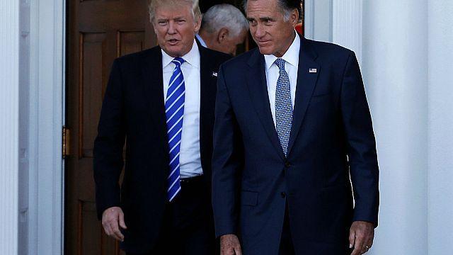 """Trump se reúne con su """"enemigo"""" Romney mientras diseña la futura Administración de EEUU"""