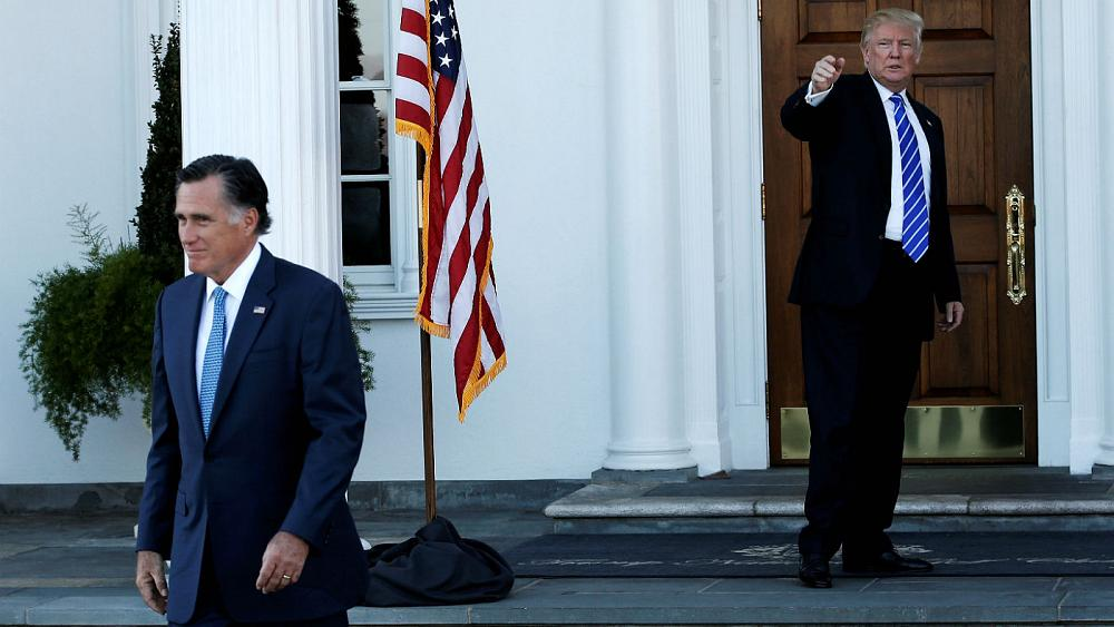 دیدار ترامپ با رامنی، گزینه تصدی سمت وزارت خارجه آمریکا