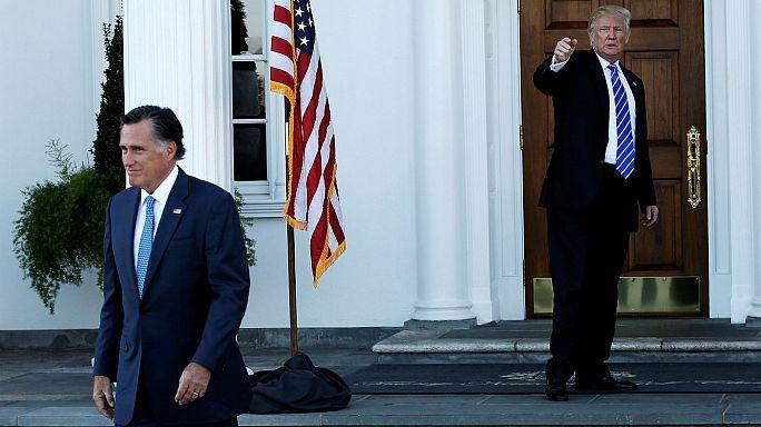 ترامب يلتقي رومني وسط حديث عن إمكانية ترشيحه لوزارة الخارجية