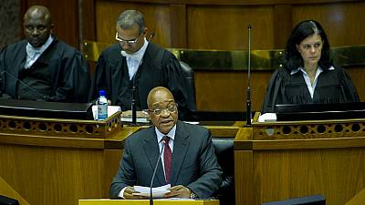 Zuma urged by S. African opposition parties to report corruption to police
