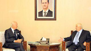 """""""Le temps est compté"""" à Alep prévient l'émissaire de l'ONU"""