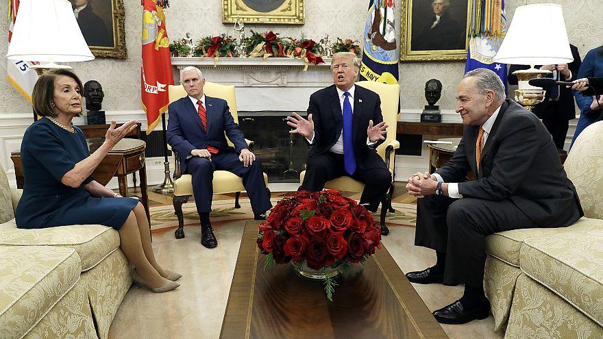 Image: Donald TrumpNancy PelosiChuck Schumer