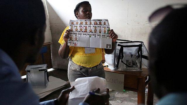 Haiti'de halk nihayet sandık başında