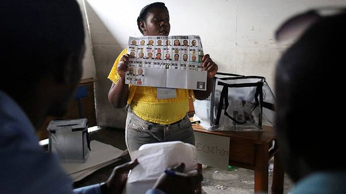 Haití elige presidente apenas un mes y medio después del paso del huracán Matthew