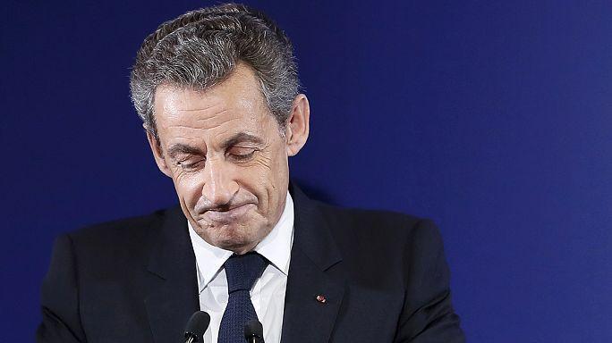 Sarkozy'nin cumhurbaşkanlığı hayali suya düştü