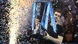 البريطاني  موراي أصبح يتربع على عرش صدارة  كرة المضرب  بعد فوزه  ببطولة الماسترز