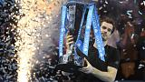 1 numaralı raket Andy Murray