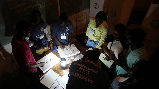 Counting begins in Haiti's delayed presidential poll