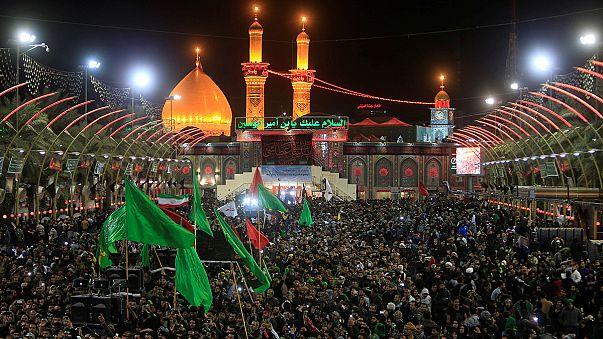مئات الآلاف في كربلاء لإحياء ذكرى أربعينية الإمام الحسين
