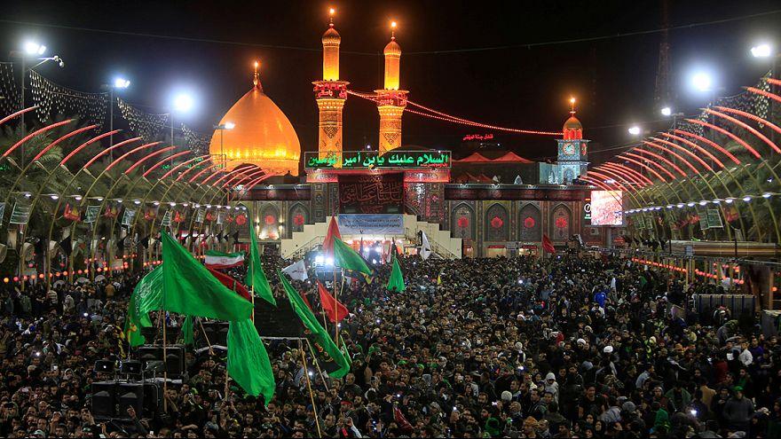 Около 20 млн шиитов собрались в иракской Кербеле на церемонию Арбаин