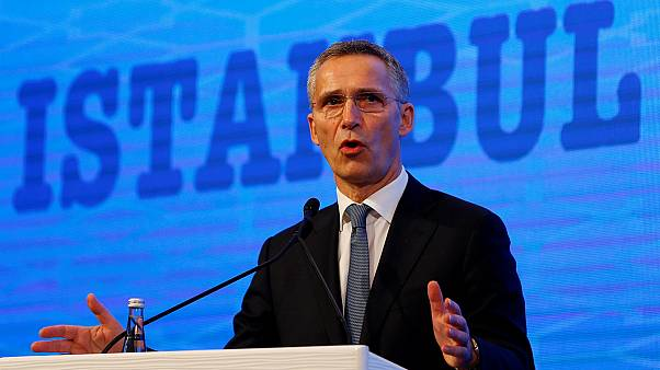 NATO chief Stoltenberg calls for military alliance to enlarge