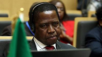 Zambian president takes 50% pay cut as part of austerity measures