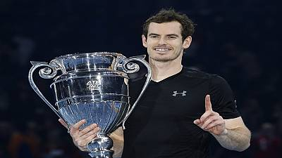 Murray secures top spot with year-end ATP World Tour Finals title