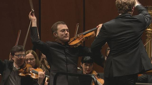 """La """"Serenata"""" de Bernstein y el virtuoso violinista Renaud Capuçon"""
