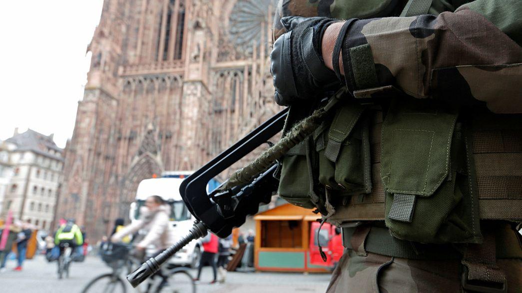 Французские спецслужбы задержали 7 человек по подозрению в подготовке теракта