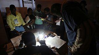 Vote counting underway in Haiti