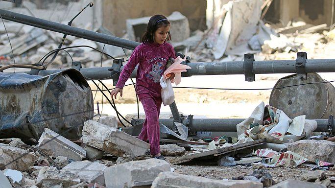 Aleppo in balia dei bombardamenti. I bambini le principali vittime