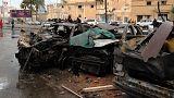 Bomba robbant egy kórház előtt Líbiában