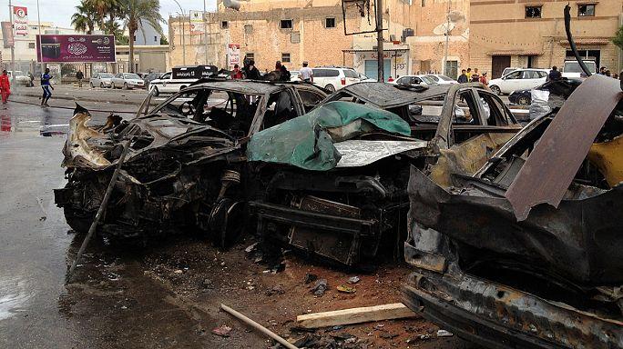 قتلى وجرحى بينهم أطفال جراء انفجار سيارة مفخخة ببنغازي شرق ليبيا