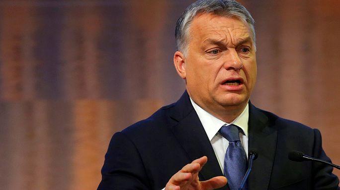 Primeiro-ministro húngaro reitera posição anti-migração